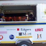 Mobile police stations against crime