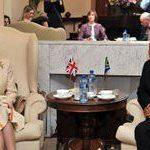 Princess Anne calls on Deputy President