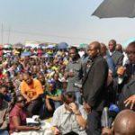 Zuma visits Marikana mine workers