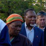 Deputy President Motlanthe queues to cast his vote