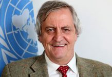 "UN peace role for South African Nicholas ""Fink' Haysom"