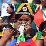 Bafana Bafana captain Meyiwa given a hero's send-off