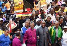 Peace and calm returns to South Africa