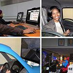 South Africa's first: truck driving simulation