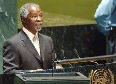 UN key to world peace: Mbeki