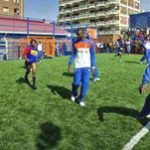 Dutch football pitch gift for Hillbrow