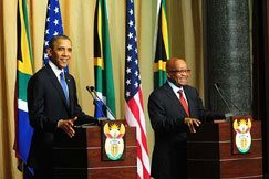 Obama's visit a turning point: Zuma