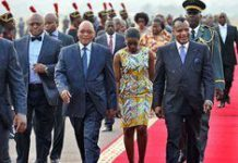 Zuma in Congo for Forbes Africa Forum