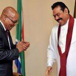 Zuma shares experience with Sri Lanka