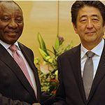 Ramaphosa explores business with Japan