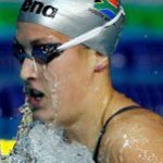 South African swimmers keep flag flying