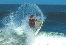 Logie stopped in Mr Price Pro final