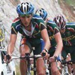 Junior cyclists fly SA flag high