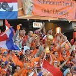 Orange Army get the party started