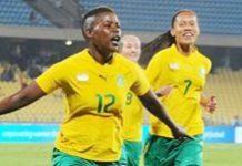 Banyana in 4-0 win over Zambia