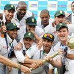 South Africa top of test cricket world