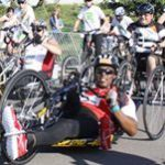 Ex-rugby star now hand cycling ace