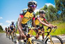 African cycling team takes on Europe