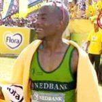 Claude Moshiywa wins Comrades
