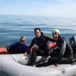 South African swims the length of Britain