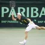 De Voest eager for Irene Davis Cup tie