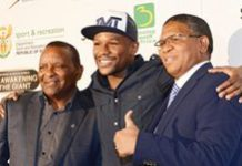Floyd Mayweather in SA to boost boxing