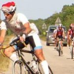 Cyclist to rack up the Ks to help the elderly