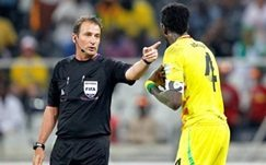Injury shatters SA referee's World Cup dream