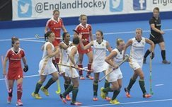 South African hockey teams fall to England