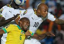 It's goodbye Bafana at Afcon 15