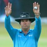 South African umpire reaches ODI half century