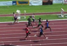 South African sets new athletics record