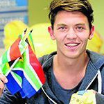 South Africa aims high for Glasgow 2015