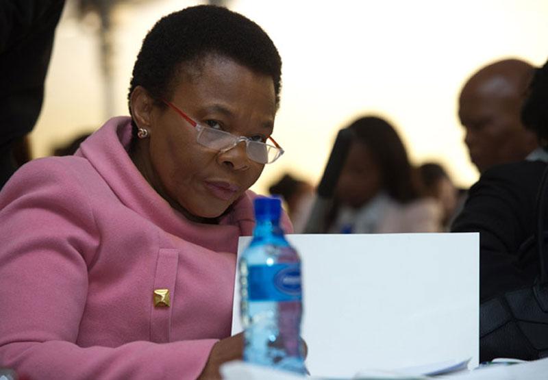 Minister of Women Susan Shabangu
