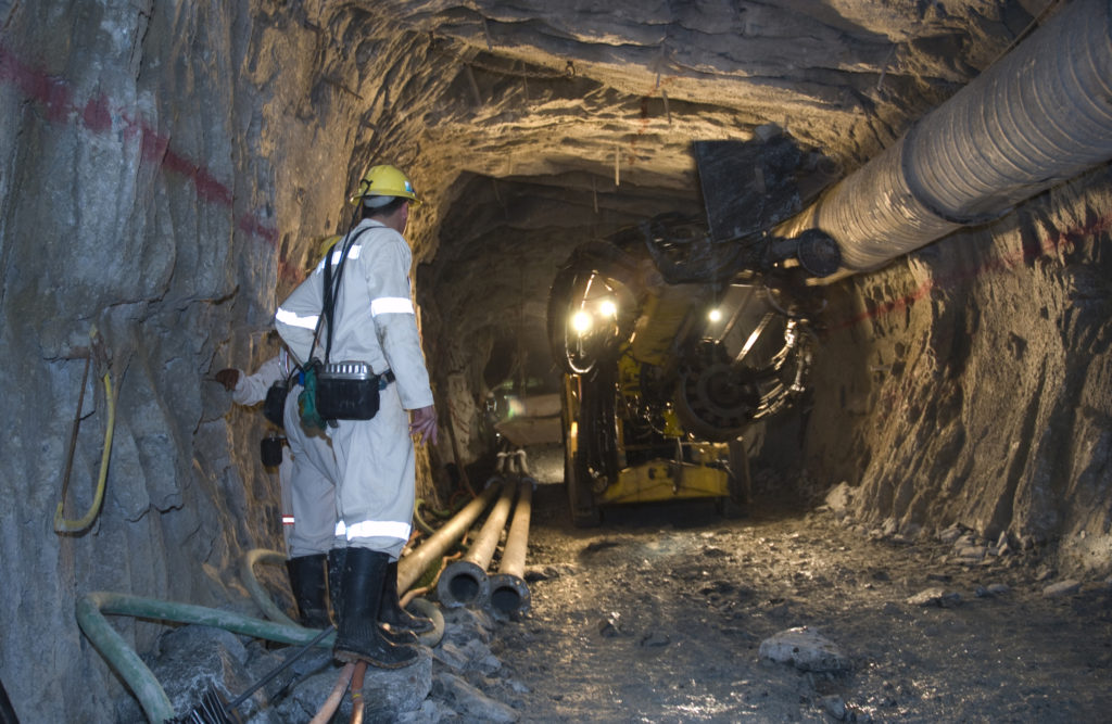 Anglogold Ashanti's Mponeng Mine - Carletonville, North West province