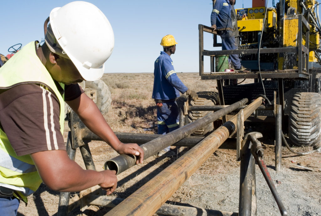 Diamond Core drilling at Katdoornkuil - Beaufort West.