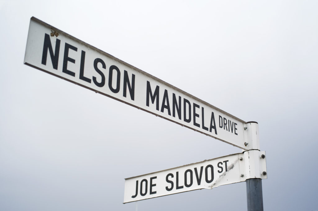 Two renamed streets in the city of Modimolle, Limpopo province