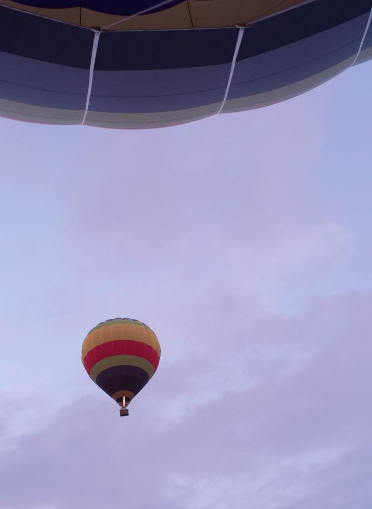 Otter Trail balloon flight