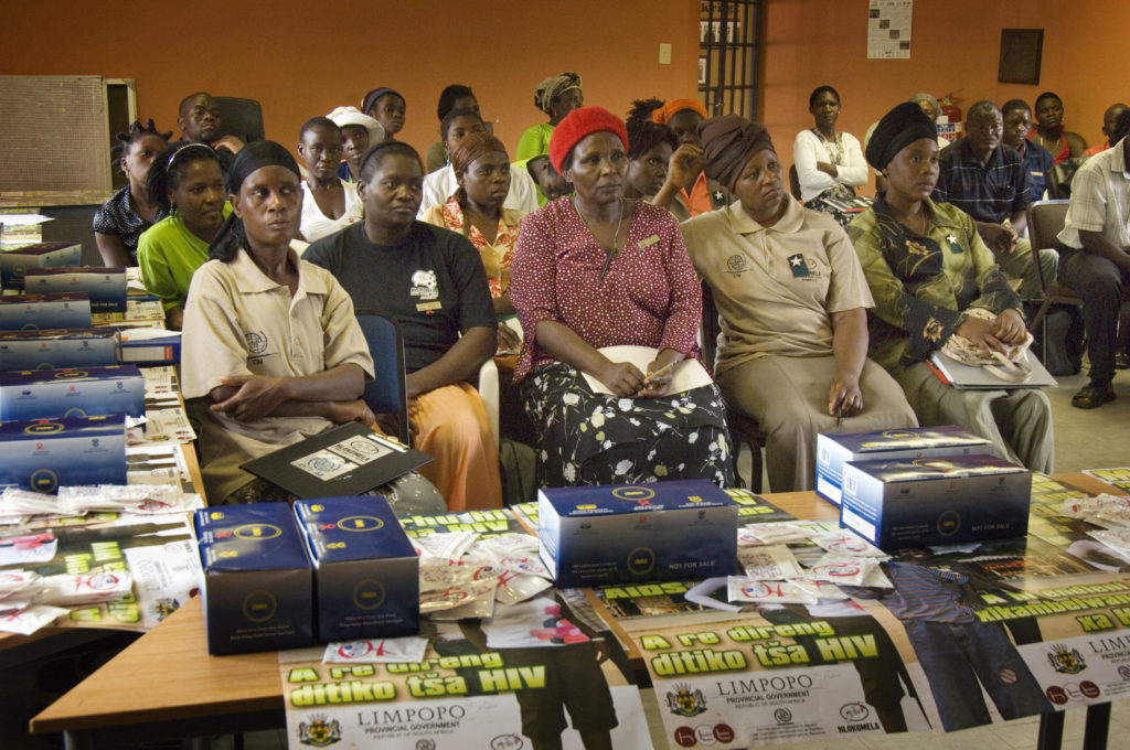 Hoedspruit, Limpopo province: HIV/Aids education on Bavaria farm