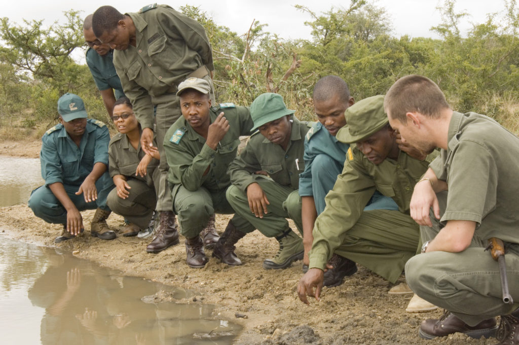 Hoedspruit, Limpopo: Students attending the certificate in natural resource management