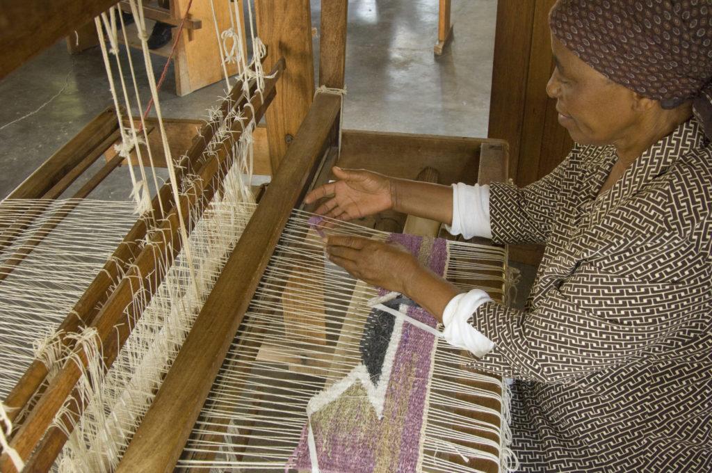 Hoedspruit, Limpopo province: Mapusha Weaving Centre