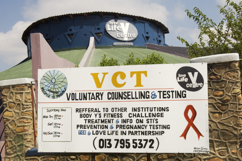 Hoedspruit, Limpopo province: The LoveLife centre
