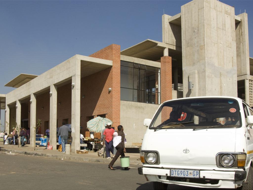 Baragwanath minibus taxi rank, Old Potchefstroom Road, Soweto
