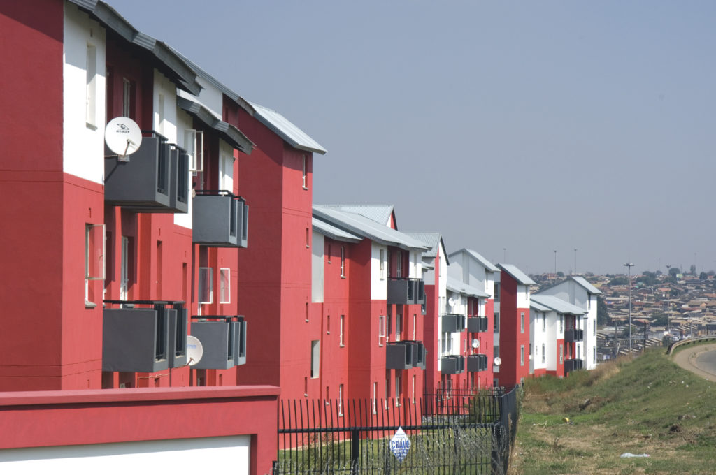 Kliptown housing project. Soweto, Johannesburg