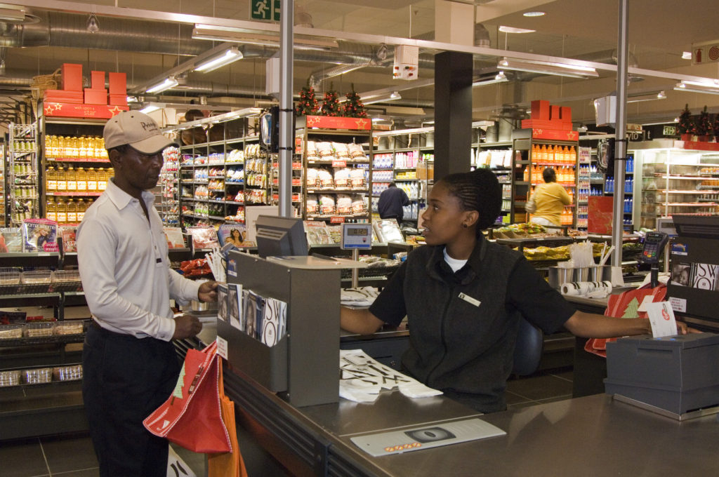 Woolworths food store in Maponya Mall
