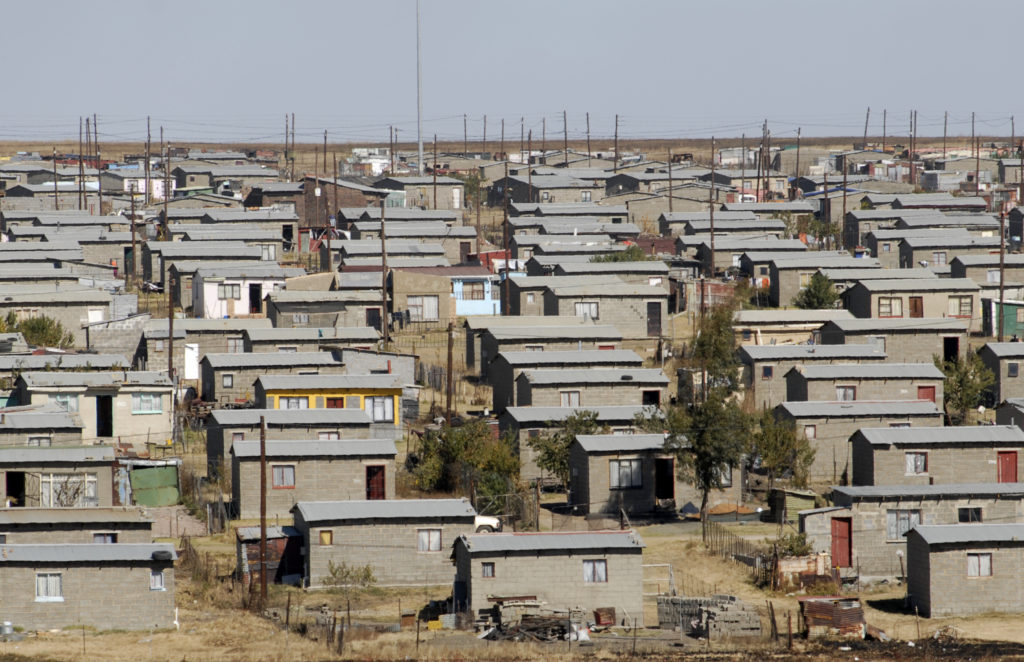 Evander, Mpumalanga province: Low-cost housing