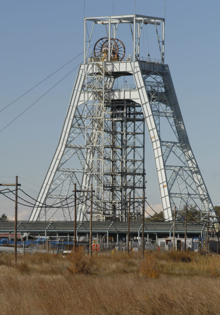 South Africa, Free State, Welkom, Harmony Gold Mine