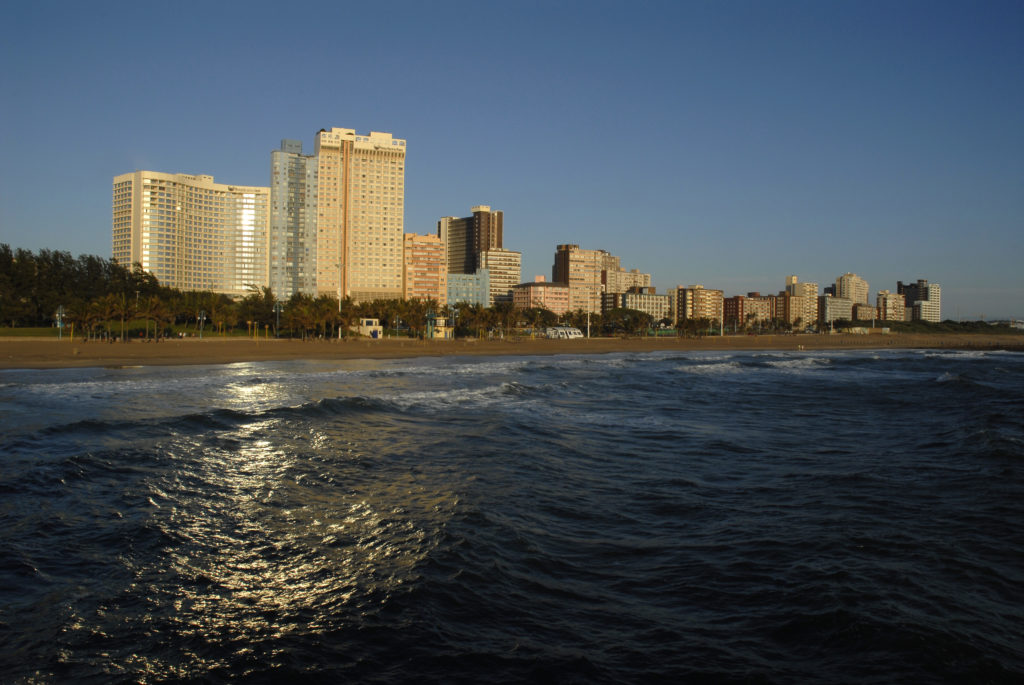 North beach hotels, Durban, KwaZulu-Natal