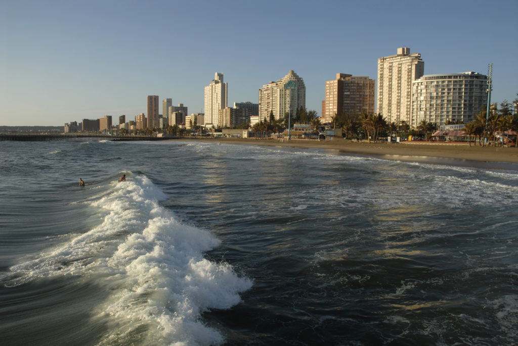 Durban, KwaZulu-Natal province: Beachfront hotels