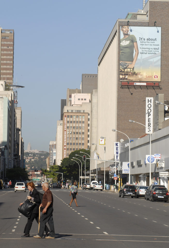 Durban, KwaZulu-Natal province: The city centre